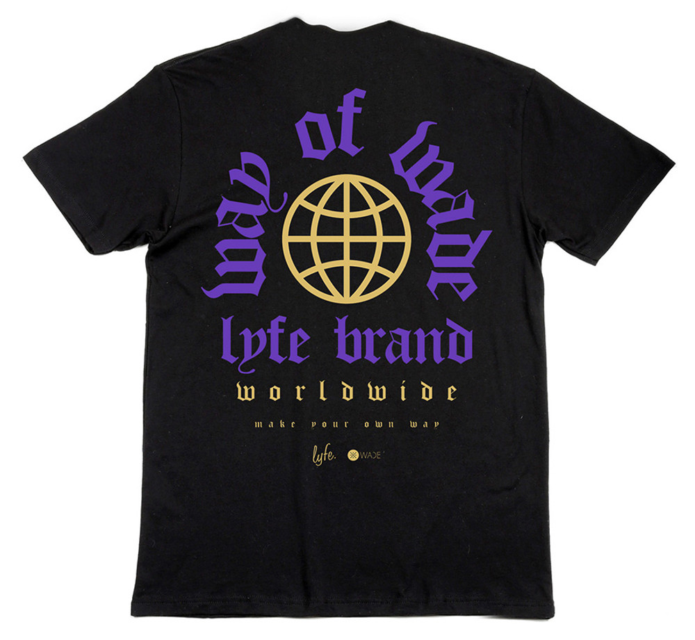 LYFE WoW Worldwide Crew neck shirt