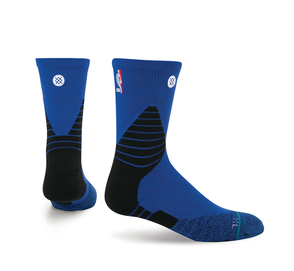 Stance NBA On Court Solid QTR Blue