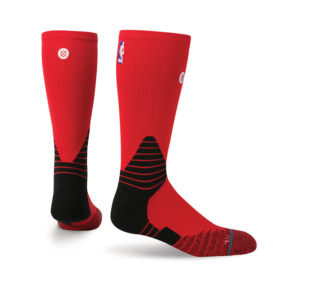 Stance Solid Crew Red