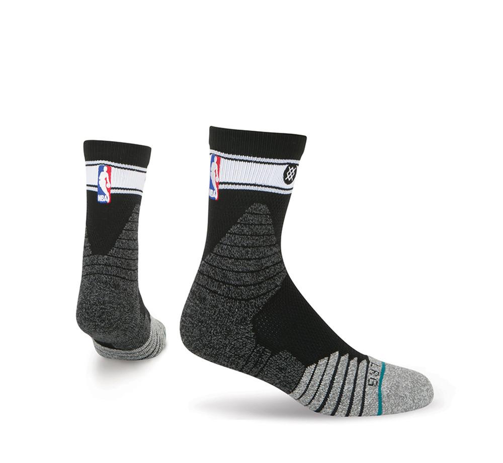 Stance QTR Bold Stripe Black