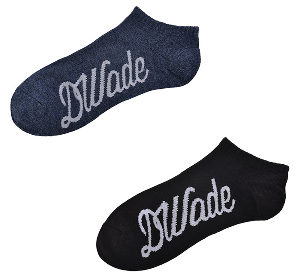 DWade Footie Socks AWSM063-2 Black