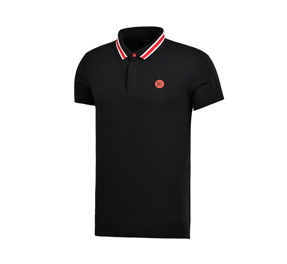 Wade Lifestyle Polo Tee APLM121-2 Black