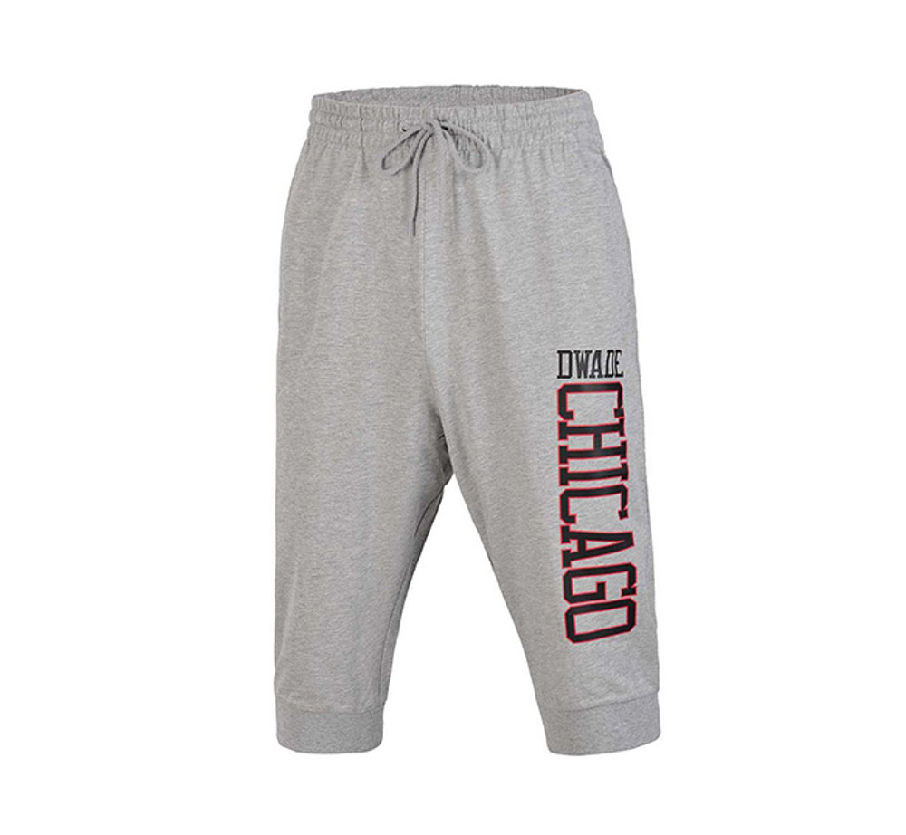 DWADE Lifestyle 3/4 Sweat Pants AKQM031-3 Grey