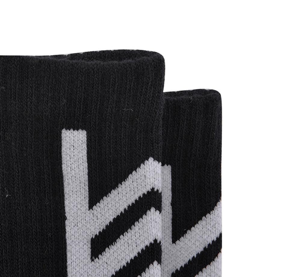 DWADE Crew Socks AWLM033-3 Black