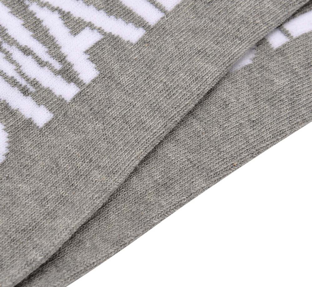 DWADE Crew Socks AWLM033-2 Grey