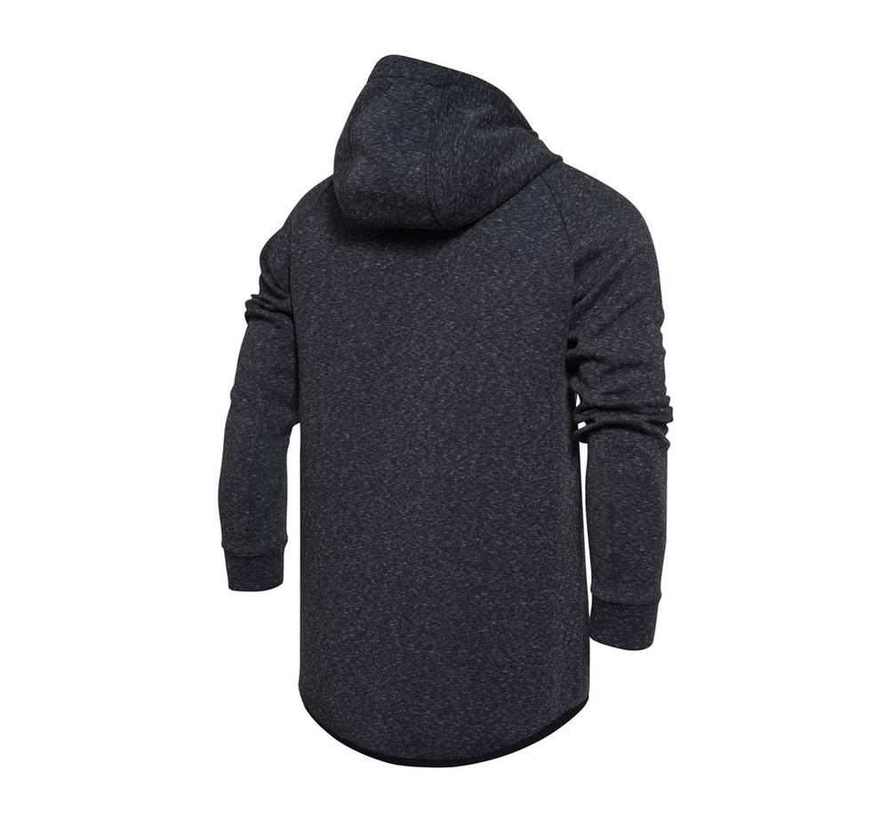 WoW Lifestyle Hoodie Jacket AWDM397-2 Heather Maze Black