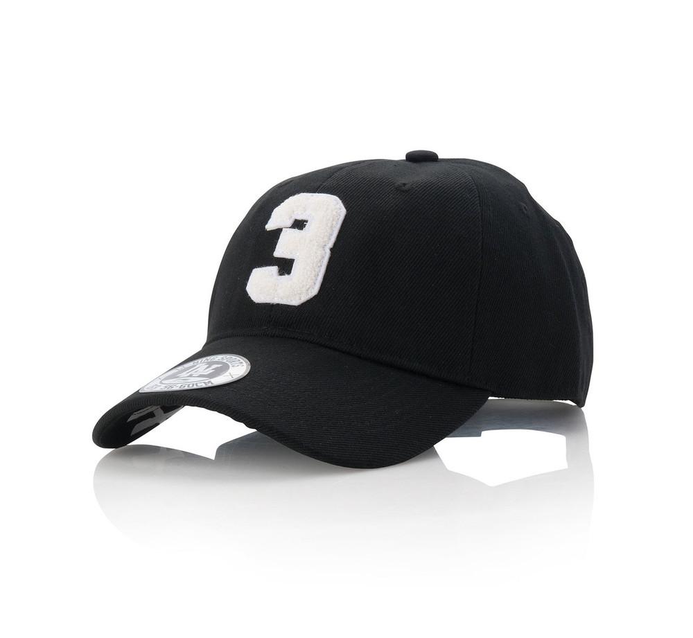 Wade Lifestyle Baseball Cap Black AMYN035-3