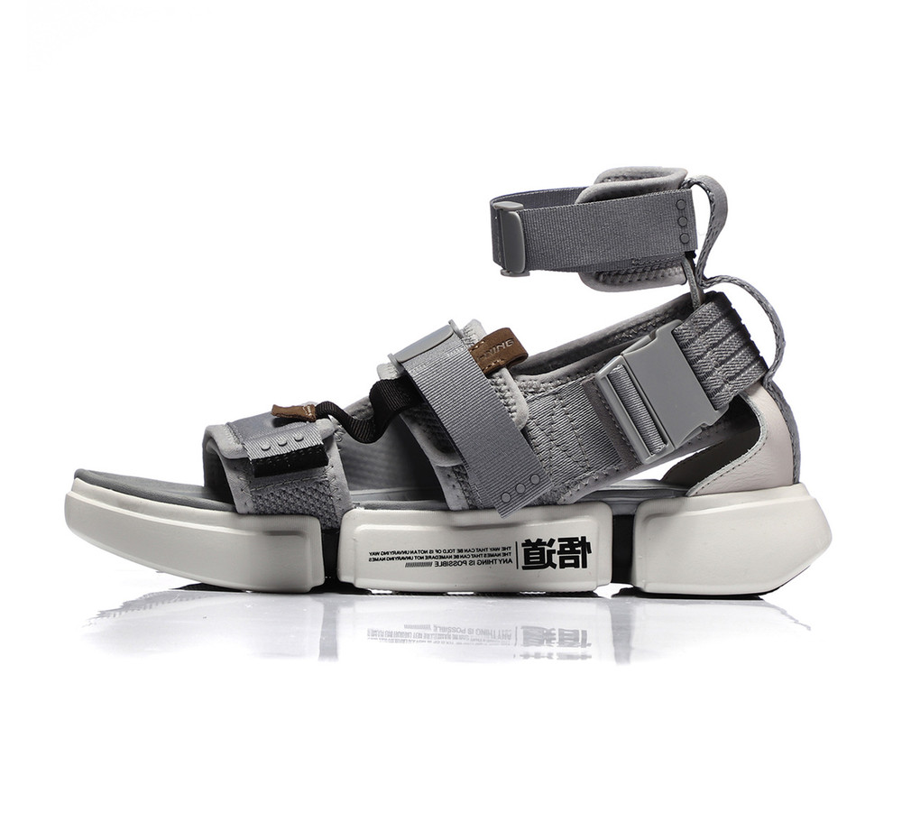 Li-Ning Paris Fashion Week Sandal Grey