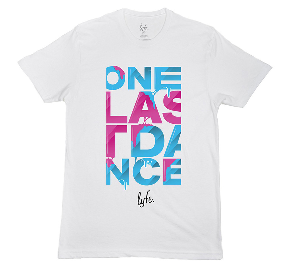 LYFE One Last Dance Vice Drip - White