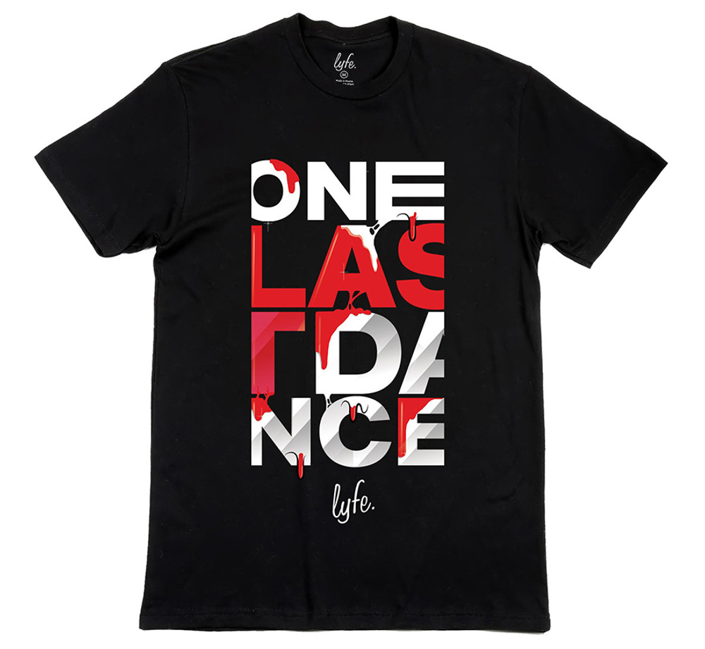 ac4e1212e89 One Last Dance Heat Drip - Black
