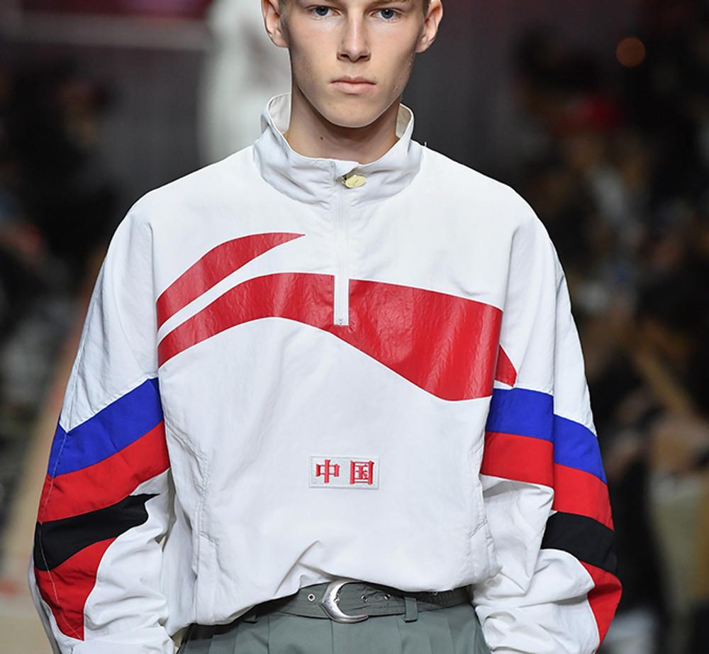 Li-Ning Paris Fashion Week Jacket AJDP015-1 White
