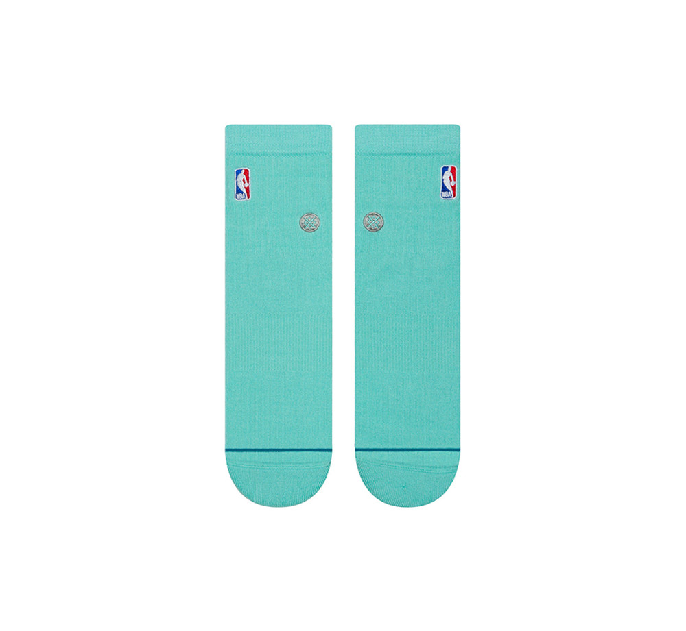 Stance NBA Logoman QTR Mint Socks