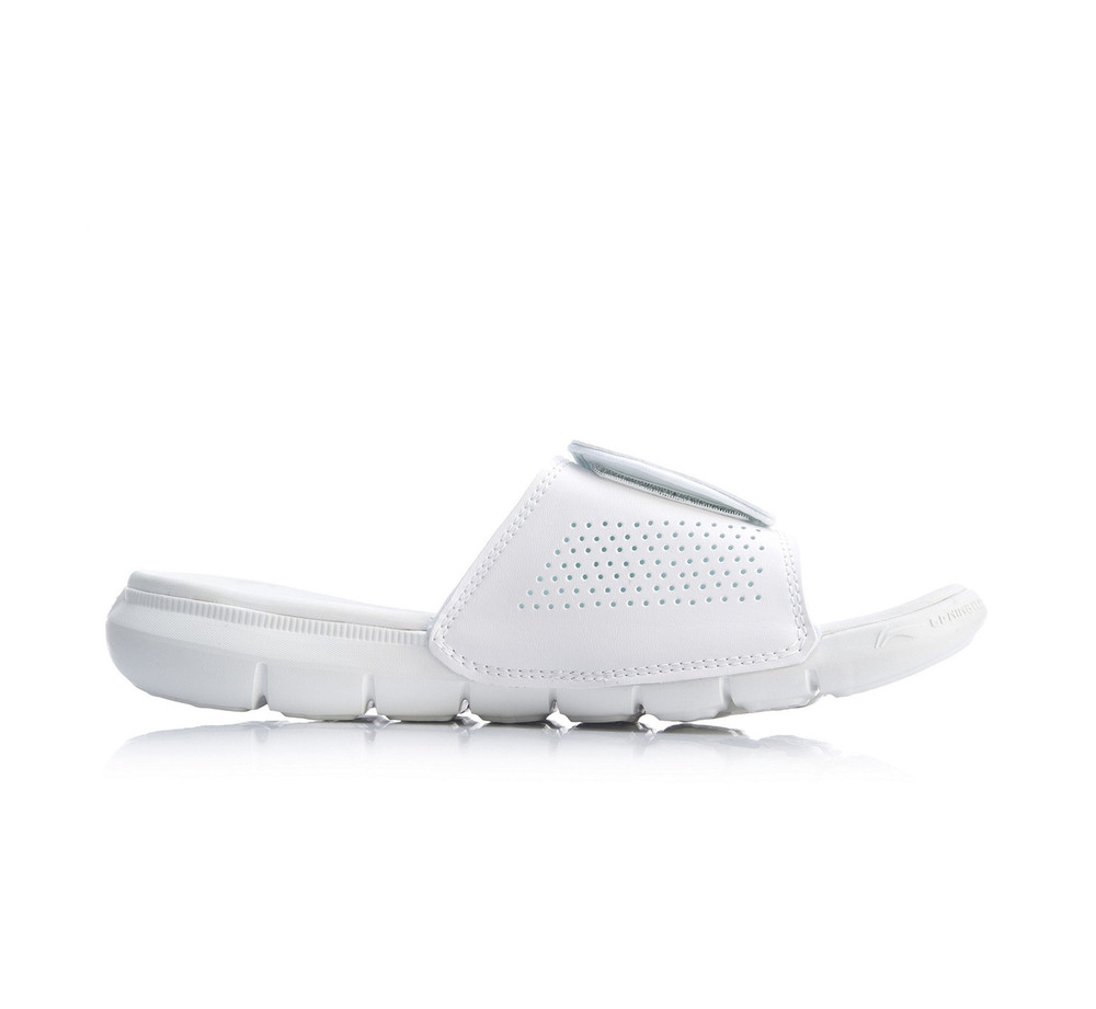 Li-Ning Bad Five Slides White