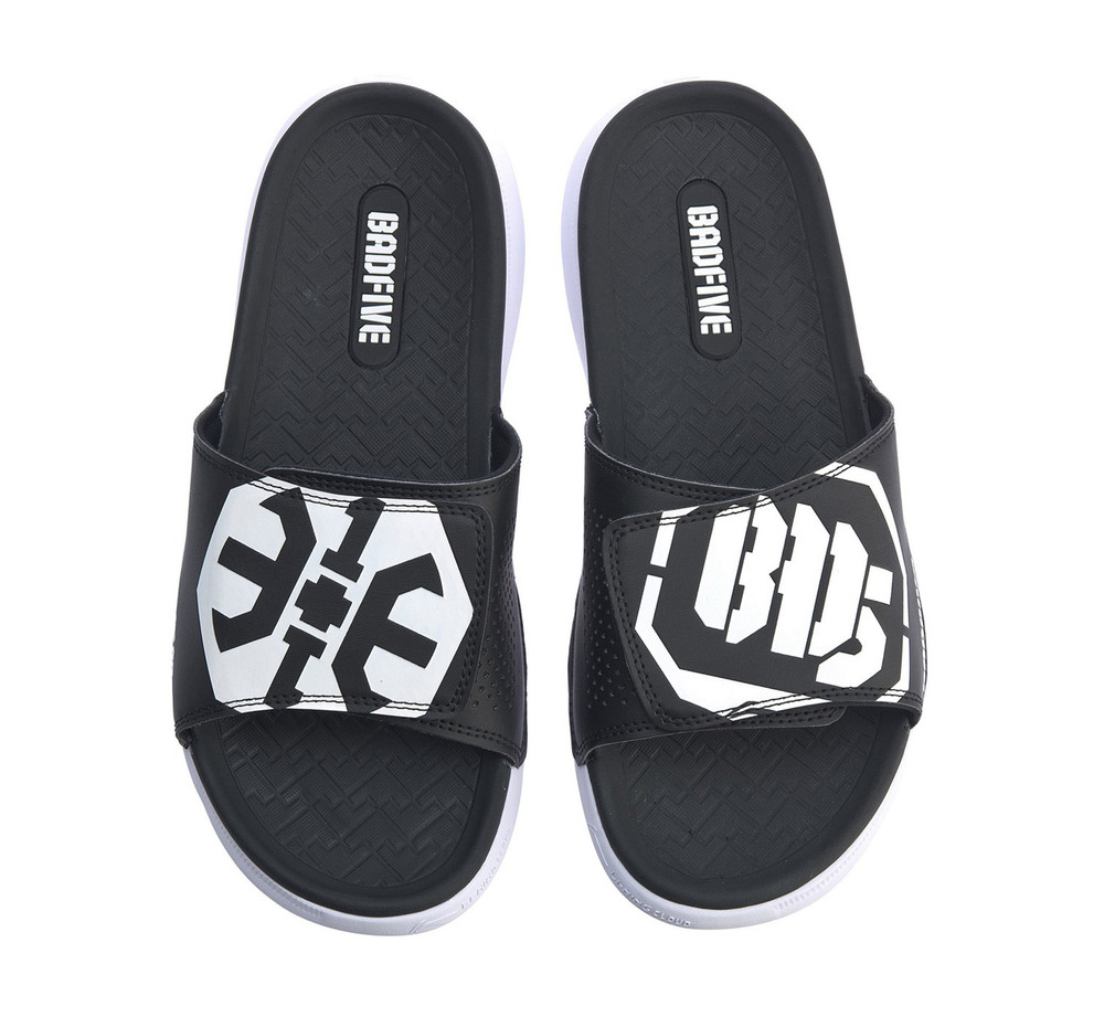 Li-Ning Bad Five Slides Black