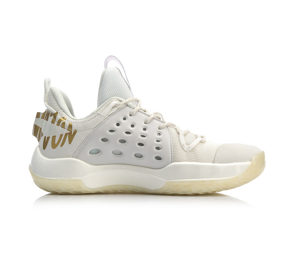 Li-Ning Sonic VII Low Basketball Shoes White