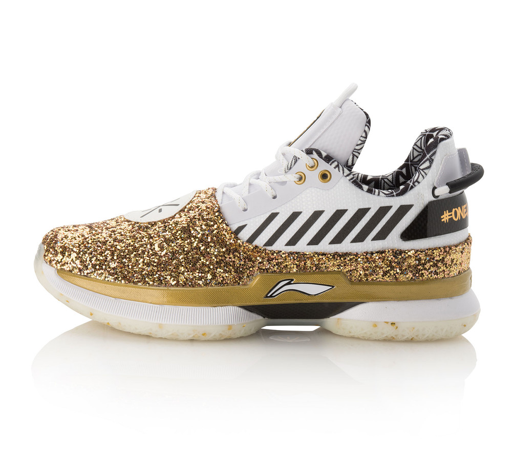 "Li-Ning Way of Wade 7.0 ""One Last Dance"" White Gold"