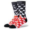 Stance Blur Check Socks