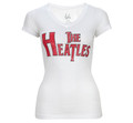 The Heatles Vintage White Hot V Neck - Women
