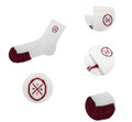 WoW Semi-Terry Quarter Socks AWSK011-2