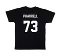 LES (ART)ISTS Black PHARRELL73 Football Tee