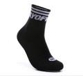 WoW Mid Cut Socks AWSM047-3 Black