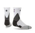 Stance NBA On Court Solid QTR White
