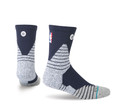 Stance NBA On Court Solid QTR Navy