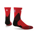 Stance NBA On Court Solid QTR Red