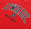 DWADE Lifestyle Tee AHSM209-4 Red
