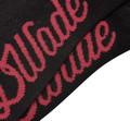 DWade Footie Socks AWSM125-2 Black