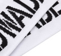 DWADE Crew Socks AWLM033-1 White