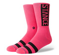 Stance OG Socks Neon Pink