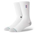Stance NBA Logoman Crew II White Sock