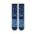 Stance NBA Logoman Leopard Socks (Blue)