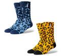 Stance NBA Logoman Leopard Socks
