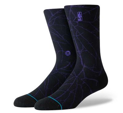 Stance NBA Logoman Shattered Socks