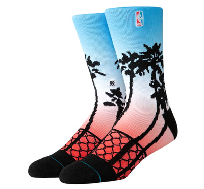 Stance NBA Logoman Palms Socks