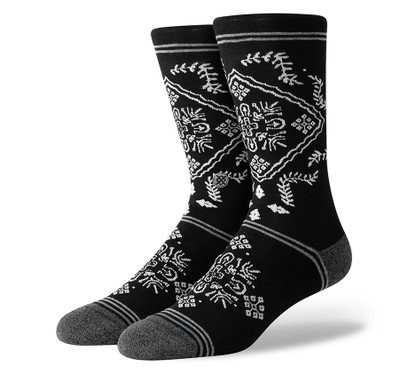 Stance Bandero Black Sock