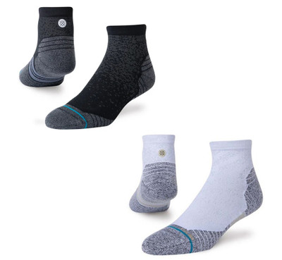 Stance Run Quarter Staple Socks