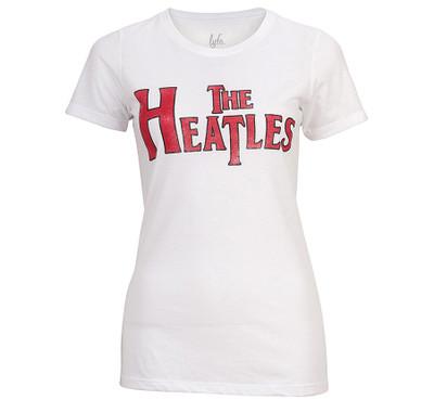 LYFE The Heatles Vintage White Hot Shirt - Crew Neck