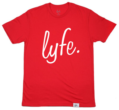 LYFE Script Red/White