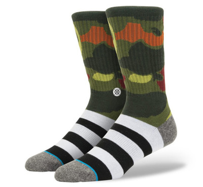 Stance Athletic Light DMJS Crew Camo