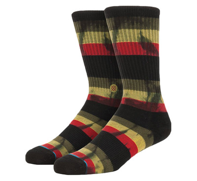 Stance Athletic Light Jah Day Crew Rasta