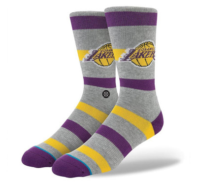 Stance Lakers 2 NBA Crew