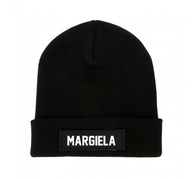 LES (ART)ISTS Black MARGIELA Beanie Patch