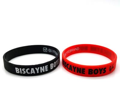 Lyfe Brand Biscayne Boys Rubber Wristband