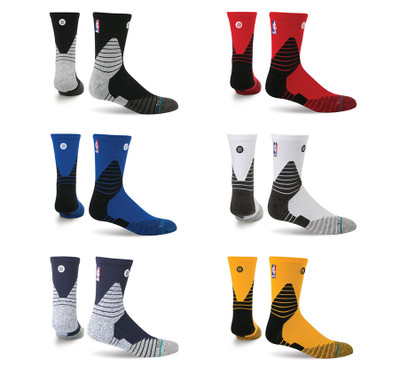 Stance NBA On Court Solid QTR