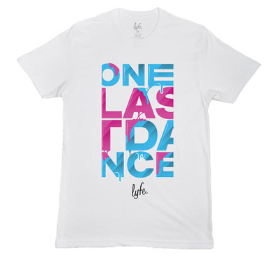 LYFE One Last Dance Vice Drip - White