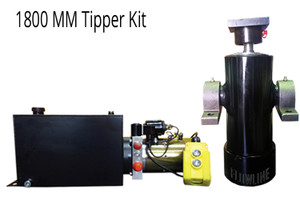 1800mm Tipper Trailer Kit- 6 Stage Hydraulic Cylinder with Hydraulic Power Pack