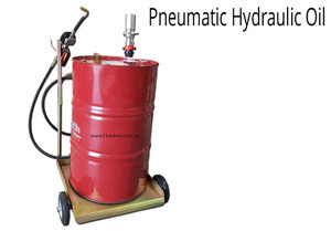 Pneumatic Hydraulic Oil Pump with Heavy Duty Drum Trolley